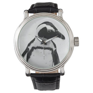 Black and White Penguin Watch
