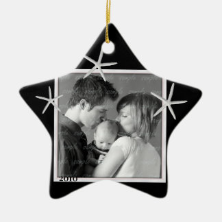 Black and White Photo Frame Ornament
