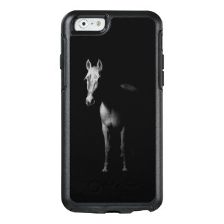 Black and white photo of horse OtterBox iPhone 6/6s case