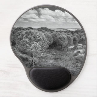 Black and white photography landscape mouse pad gel mouse pad