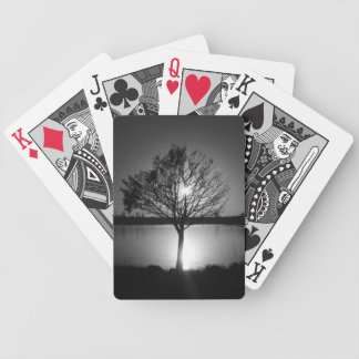 black and white photography poker deck
