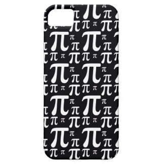 Black and White Pi Pattern iPhone 5 Case
