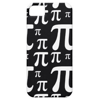 Black and White Pi Pattern iPhone 5 Cover