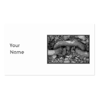 Black and white picture of chain. Double-Sided standard business cards (Pack of 100)