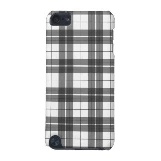 Black and White Plaid iPod Touch 5G Case