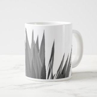 Black and white plant photography mug