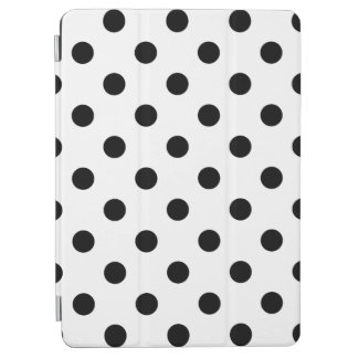 Black and White Polka Dot Pattern iPad Air Cover