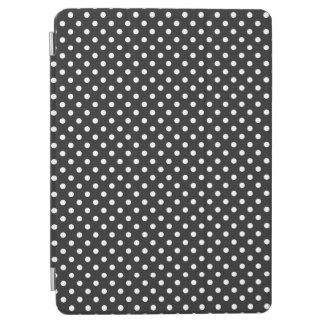 Black and White Polka Dot Pattern iPad Air Cover