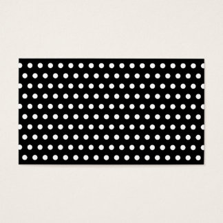 Black and White Polka Dot Pattern. Spotty.