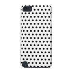 Black and White Polka Dot Pattern. Spotty. iPod Touch (5th Generation) Cover