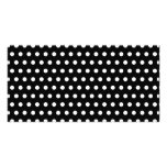 Black and White Polka Dot Pattern. Spotty. Photo Card