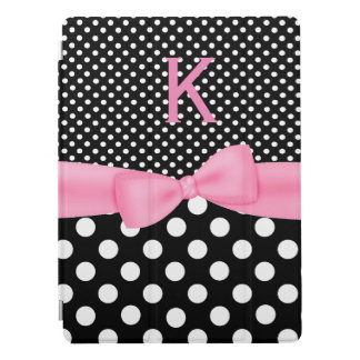 Black and White Polka Dots iPad Pro Smart Cover iPad Pro Cover