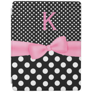 Black and White Polka Dots iPad Smart Cover iPad Cover