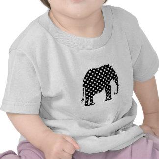 Black and White Polka Dots Tee Shirt