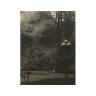 Black and White Poster of Hot Springs AR