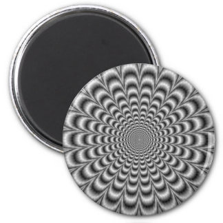 Black and White Pulse Magnet