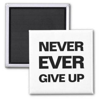 Black and white qoute motivational modern magnet