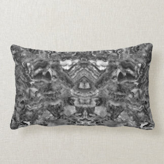 Black and white Quartz Lumbar Cushion