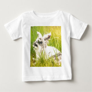 Black and white rabbit baby T-Shirt
