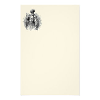 Black And White Renascence Fashions Stationery Design