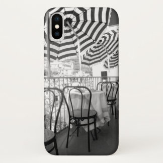 Black And White Restaurant Tables iPhone X Case