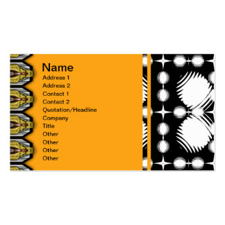 Black and White Ripples Big Business Card Templates