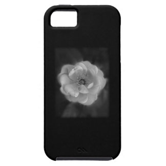 Black and White Rose. Case For The iPhone 5