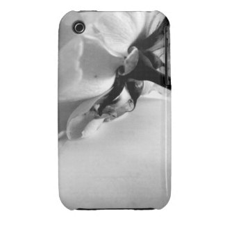 Black and White Rose iPhone 3 Cover