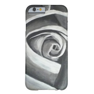 Black and White Rose iPhone 6 Case Barely There iPhone 6 Case