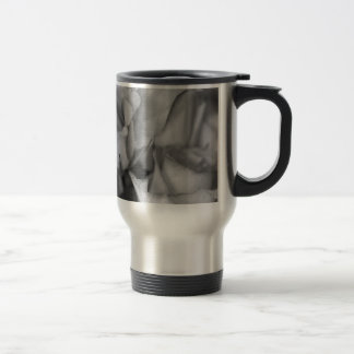 Black and White Roses Mugs