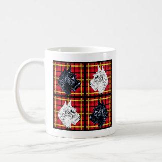 Black and White Scottish Terrier mug