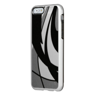 Black and White Shape Art Incipio Feather® Shine iPhone 6 Case