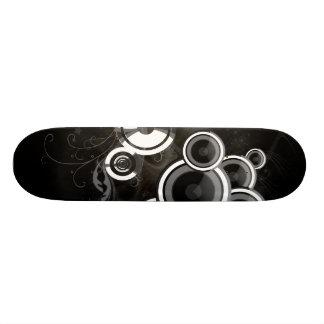 Black And White Skateboard Deck