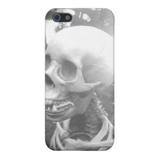 Black and white skeleton iphone case iPhone 5 covers