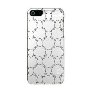Black and white Skull and Bones pattern Incipio Feather® Shine iPhone 5 Case