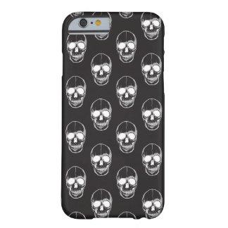 Black and White Skull Pattern Halloween Case