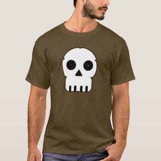 Black and white skull v2. T-Shirt