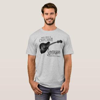 Black and White Sorensen VX mandolin tee