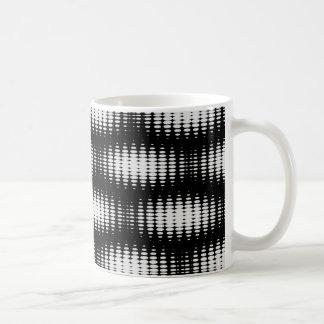 Black And White Spot Pattern Coffee Mug