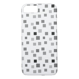 Black and White Square Pattern iPhone 7 Case