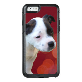 Black And White Staffordshire Bull Terrier Puppy, OtterBox iPhone 6/6s Case