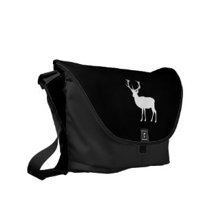 Black and White Stag Party Bachelor's Party Messenger Bag