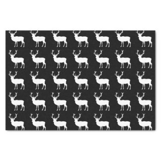 Black and White Stag Party Bachelor's Party Tissue Paper