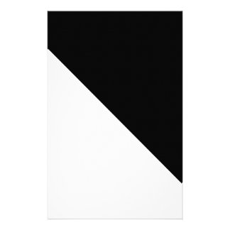 Black and White Personalized Stationery
