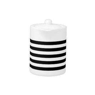 Black and White Stripe Pattern