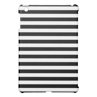 Black and White Stripe Pattern Cover For The iPad Mini