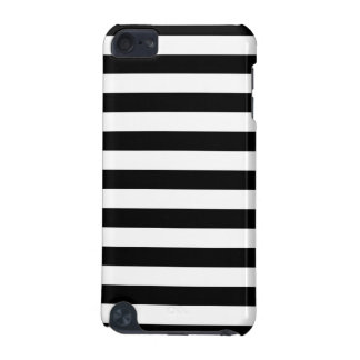 Black and White Stripe Pattern iPod Touch 5G Cover