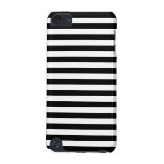 Black and White Stripe Pattern iPod Touch (5th Generation) Case