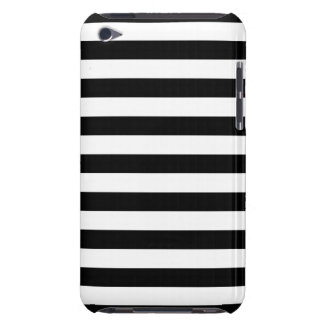 Black and White Stripe Pattern iPod Touch Covers