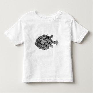 Black and White Striped Cowfish Tshirt